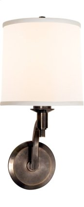 Visual Comfort BBL2023BZ-S Barbara Barry Westport 1 Light 8 inch Bronze Decorative Wall Light