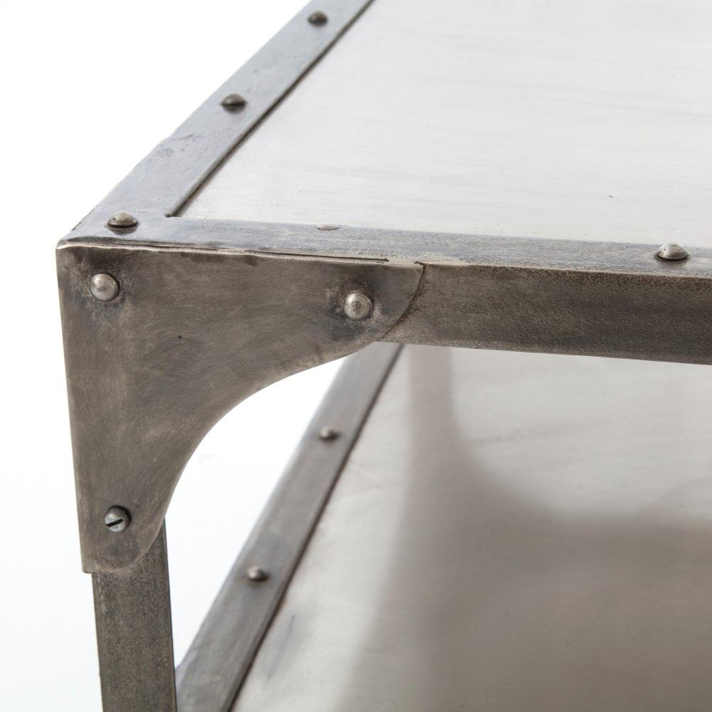Merveilleux Element Coffee Table Nickel/ant Nickel