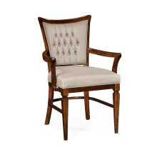 Calista Dining Armchair, Upholstered in MAZO