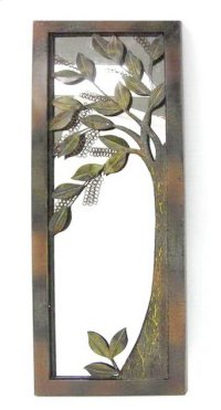 Metal Mirror/Tree Image- 15x39 Product Image