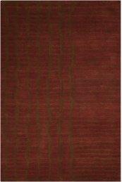 Luster Wash Sw15 Brick Rectangle Rug 8'3'' X 11'