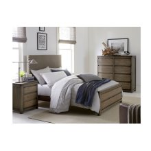 Big Sky by Wendy Bellissimo Upholstered Bed Complete 4/6, Full