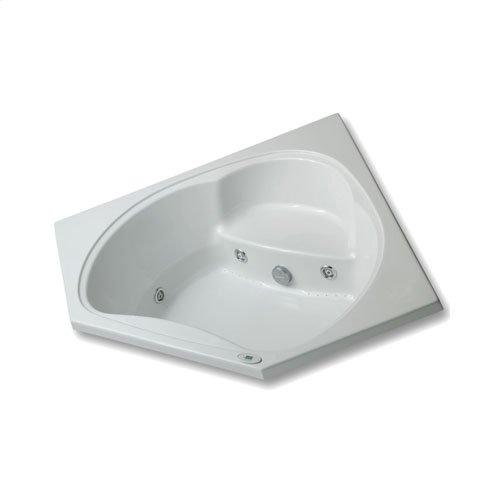 "Easy-Clean High Gloss Acrylic Surface, Corner, AirMasseur® - Whirlpool Bathtub, Signature Package, 60"" X 60"""