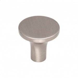 Marion Knob 1 1/8 Inch - Brushed Satin Nickel