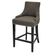 Charlotte Fabric Counter Stool, Toffee