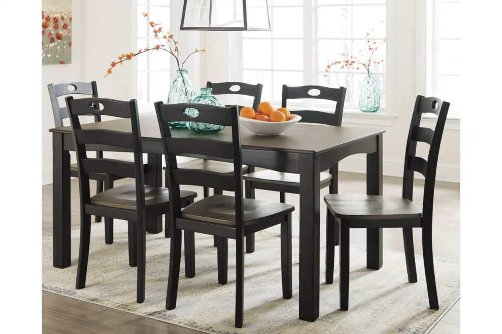 D338425ashley Furniture Dining Room Table Set 7 Cn Westco Home