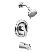 Adler chrome posi-temp® tub/shower