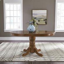 Oval Pedestal Table Base