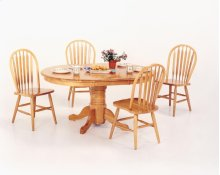 PED - Solid Hardwood Table