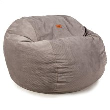 King Chair - Chenille - Charcoal