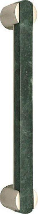 Door Pull With Verdi Alpi Marble Product Image