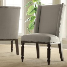 Belmeade - Hostess Chair - Old World Oak Finish