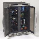 Side-by-Side Dual Zone Wine/Beverage Cooler Product Image