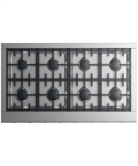 "Gas Cooktop 48"" 8 burners"