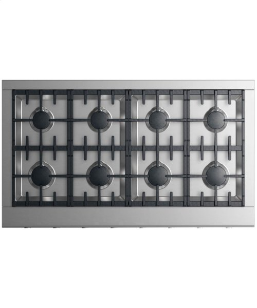 "Gas Rangetop 48"" 8 burners"