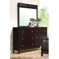 Carlton Cappuccino Six-drawer Dresser Product Image