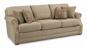 Coburn Fabric Sofa with Nailhead Trim