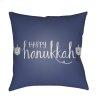 """Happy Hannukah HDY-027 18"""" x 18"""""""