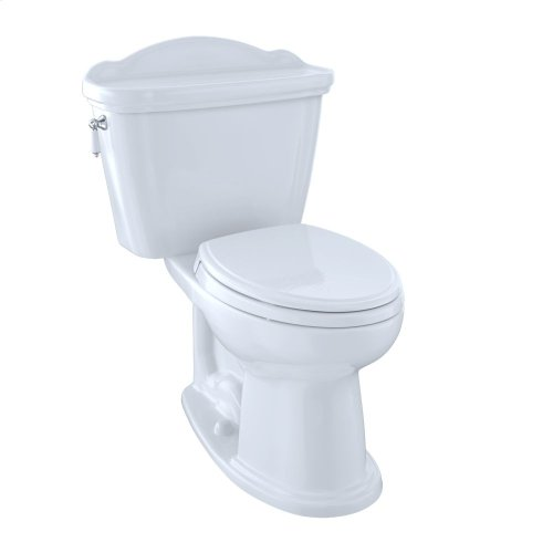 Eco Whitney® Two-Piece Toilet, 1.28 GPF, Elongated Bowl - Cotton