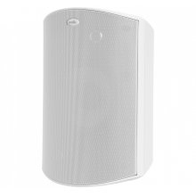 High Performance All Weather Outdoor Loudspeaker with Dual Tweeters and PowerPort Bass Venting in Paintable White