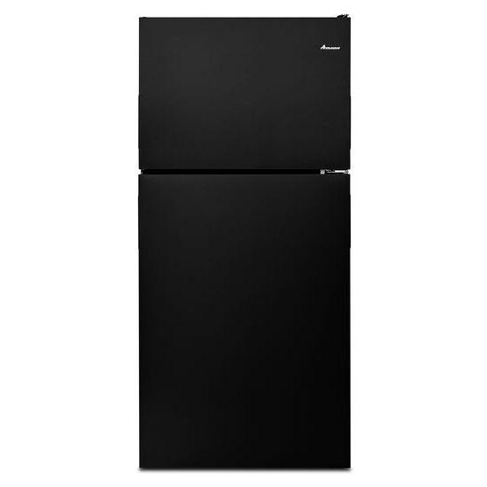 30 Inch Wide Top Freezer Refrigerator With Gallon Door Storage Bins   18 Cu