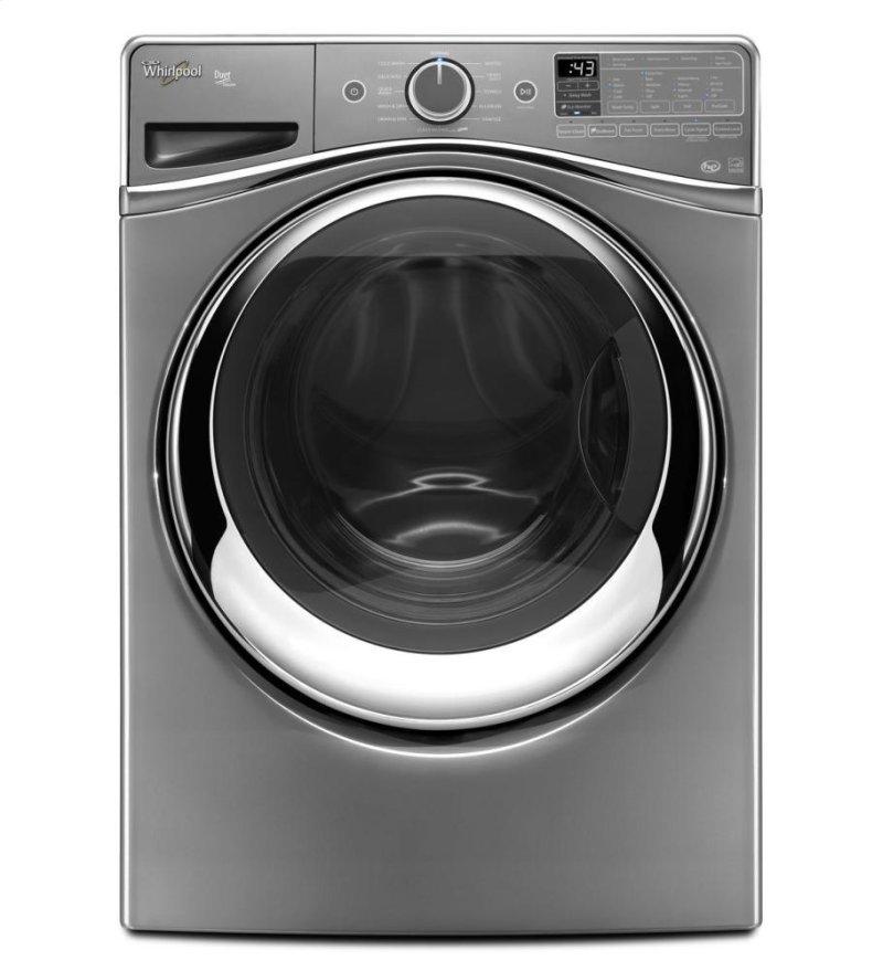 Duet Steam Front Load Washer With Fanfresh Option Hidden Whirlpool Logo