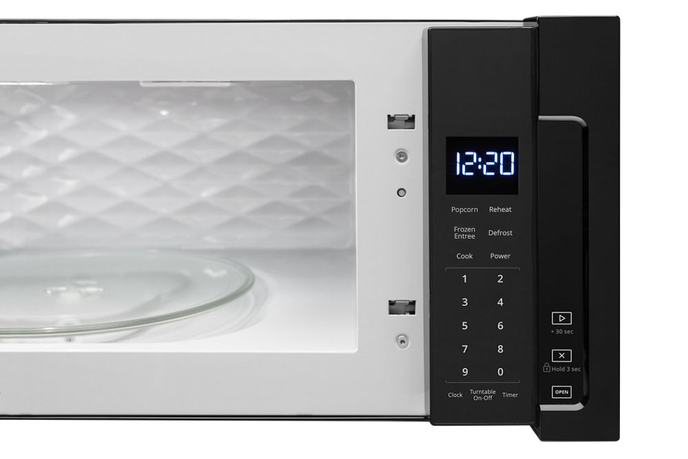 Wml55011hb Whirlpool 1 1 Cu Ft Low Profile Microwave Hood