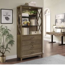 Midtown Bunching Bookcase with File Drawer