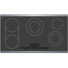 """500 Series 36"""" Stainless Steel Electric Cooktop with Touch Control NET5654UC"""