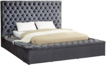 Bliss Velvet Bed - 86''W x 98''L x 60.5''H