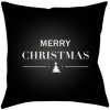 "Merry Holiday PHDMH-001 18"" x 18"""