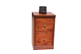 "O-S178 Shaker Oak 2-Drawer Letter File Cabinet, 17 7/8""W x 17""D x 30""H"