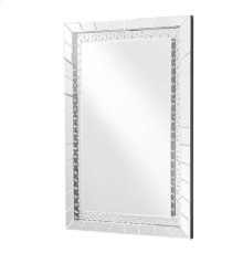 Modern47*31.5 in. Contemporary Mirror in Clear
