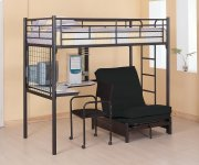 Twin Workstation Loft Bed Product Image