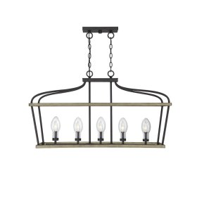 Danbury 5 Light Outdoor Chandelier