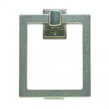 "8"" Square Door Knocker - DK8 Silicon Bronze Brushed"