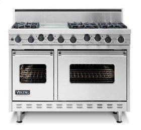 """48"""" Sealed Burner, Self-Cleaning Range - VGSC (48"""" wide range with 4 burners; 24""""W. griddle/simmer plate)"""