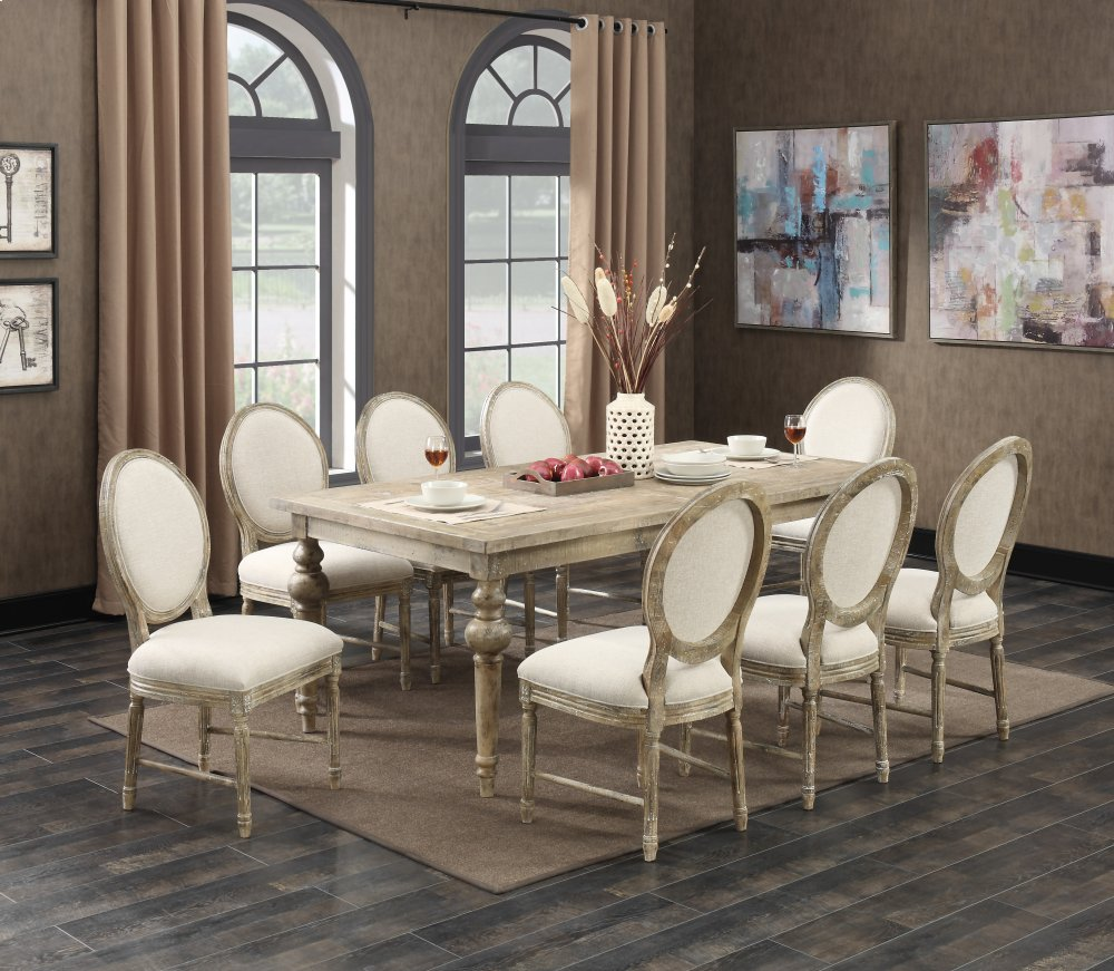 Emerald Home Interlude Side Chair W/upholstered Seat U0026 Back Sandstone D560  20