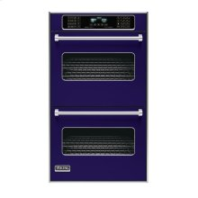 "Cobalt Blue 30"" Double Electric Touch Control Premiere Oven - VEDO (30"" Wide Double Electric Touch Control Premiere Oven)"