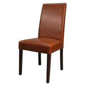 Hartford Bonded Leather Chair, Cognac