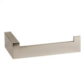 Wall mounted tissue holder vertical or horizontal