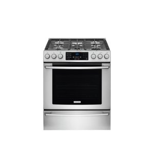 Electrolux30'' Gas Front Control Freestanding Range