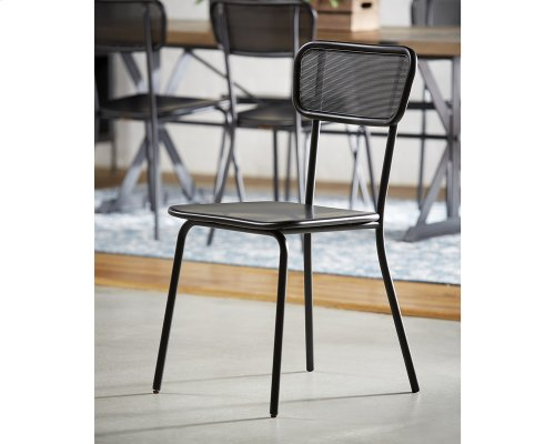 Carbon Method Mesh Back Chair