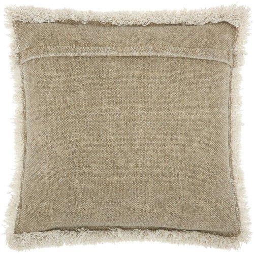 """Life Styles E0450 Beige 20"""" X 20"""" Throw Pillows"""