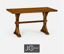 """54"""" Solid Country Walnut Dining Table"""