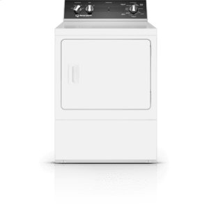 Speed Queen White Dryer: Dr5 (Electric)