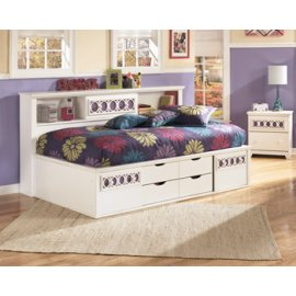 Twin/Full Bookcase Bed
