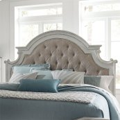King Uph Panel Headboard
