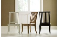 Everyday Dining by Rachael Ray Slat Back Side Chair - Nutmeg Product Image