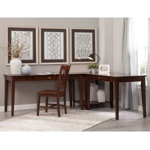 "JOHN THOMAS FURNITURE60"" Writing Table Espresso (Shown in corner configuration with OF581-41 & OF581-63)"